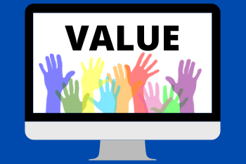 Provide value to audience