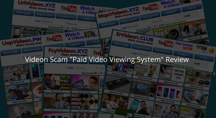 """Videon Scam """"Paid Video Viewing System"""" Review"""