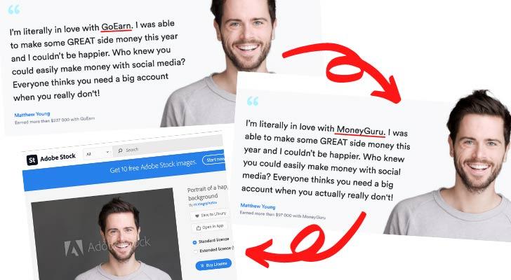 MoneyGuru.co Fake Testimonial