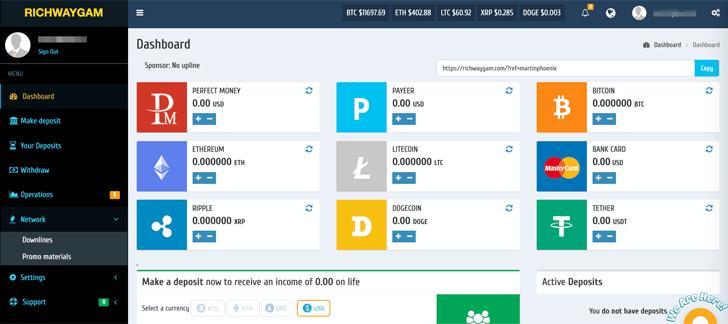 Richway GAM Investment Dashboard
