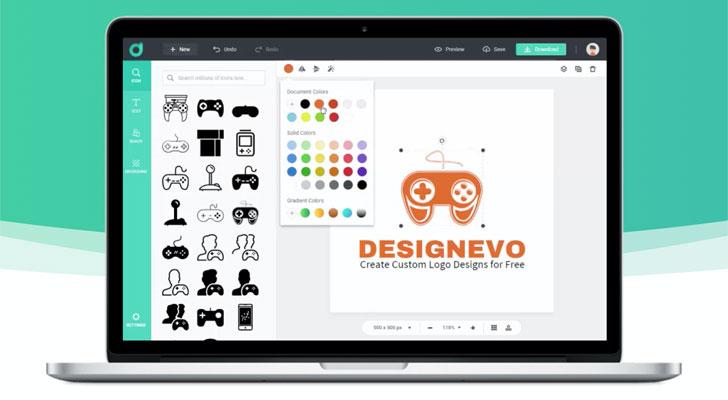Best Free Logo Maker Online DesignEvo Review
