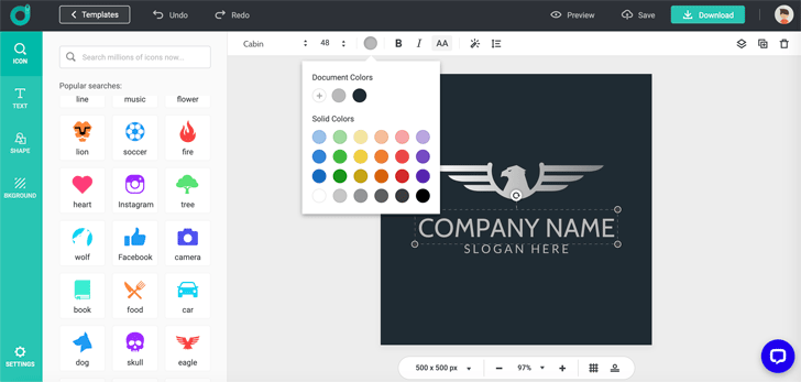 Free Online Logo Maker DesignEvo