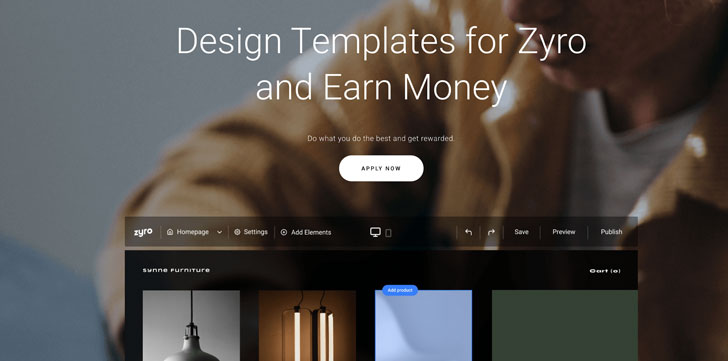 Zyro Curated Templates Program