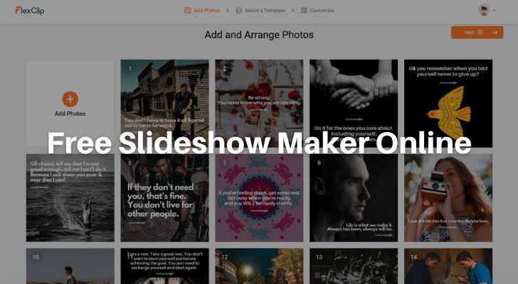 Free Slideshow Maker Online