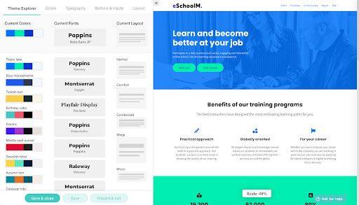 LearnWorlds Design your school