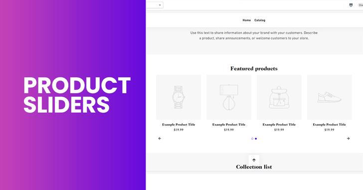 Debutify Product Sliders