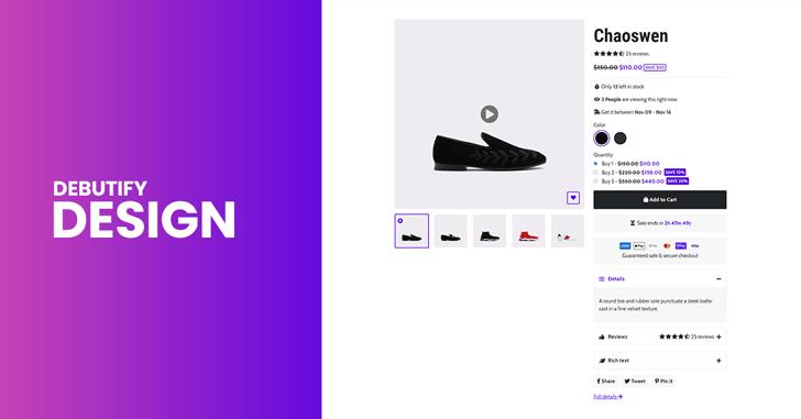 Debutify Design