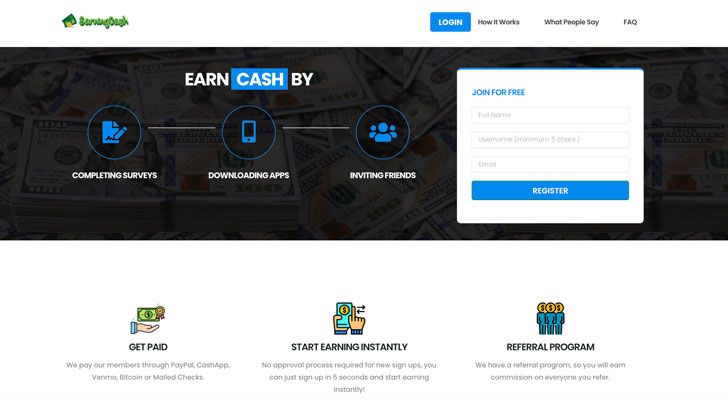 EarningCash Scam Review
