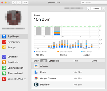 Review and Monitor Your Screen Time