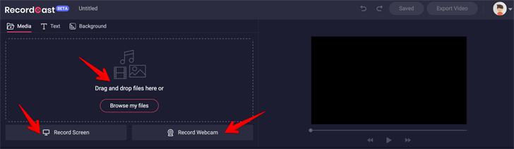 Record Screen Add Facecam