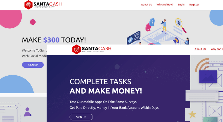 SantaCash Scam Review
