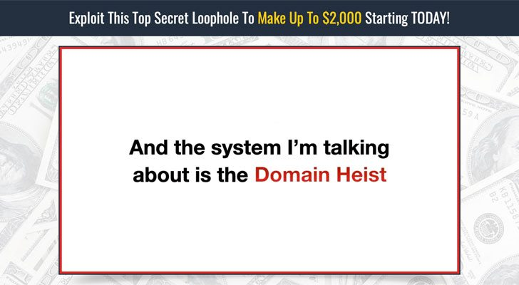 Domain Heist Review