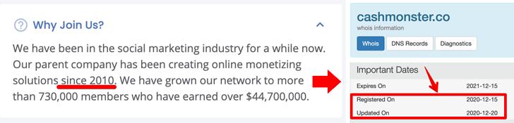 Cash Monster Fake Company