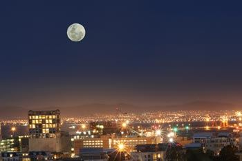 Meditating Moon