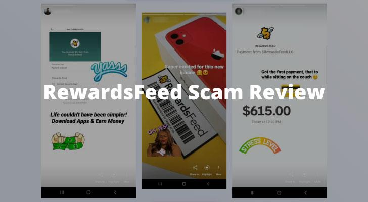 RewardsFeed Scam Review