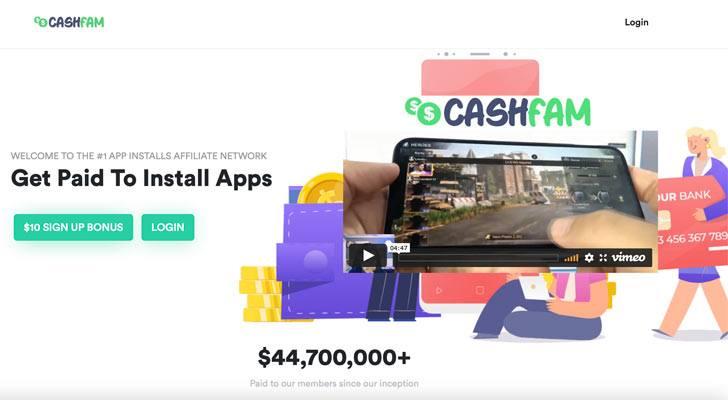 CashFam Scam Review