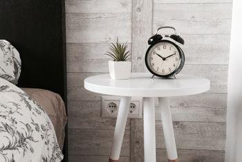 Clock Bedroom