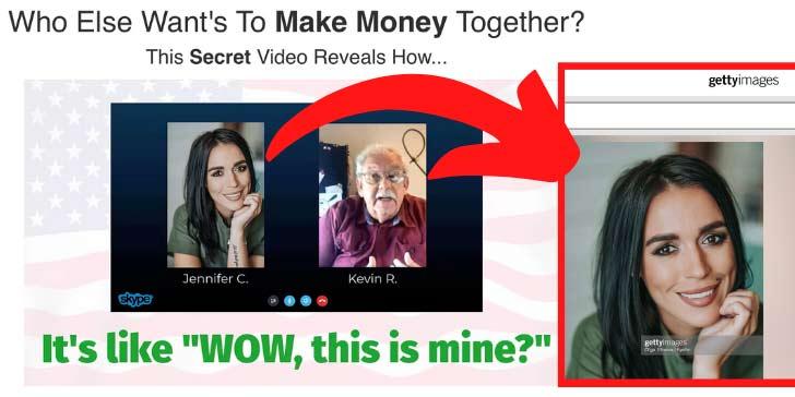 Jens Mega marketing System Fake Photo