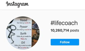 Life Coach Instagram