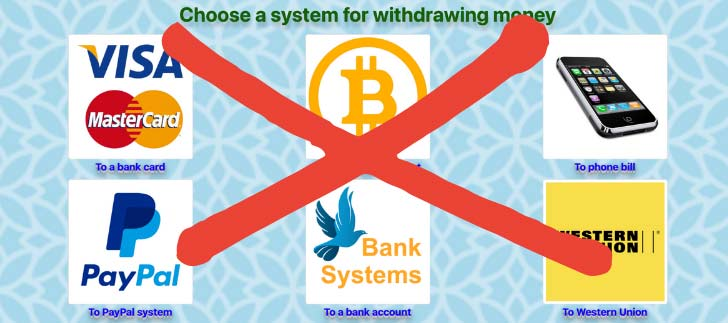 Pays.xyz Fake Payment Methods