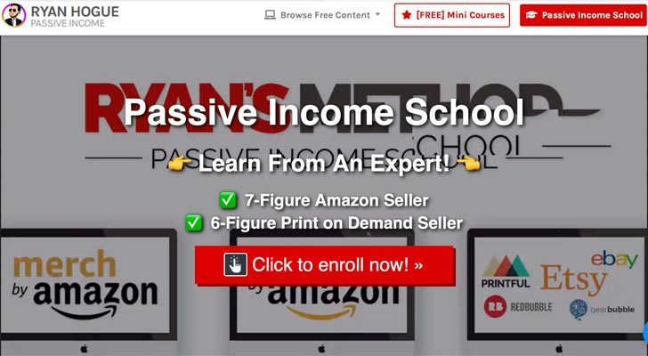 Ryan Hogue's Passive Income School review